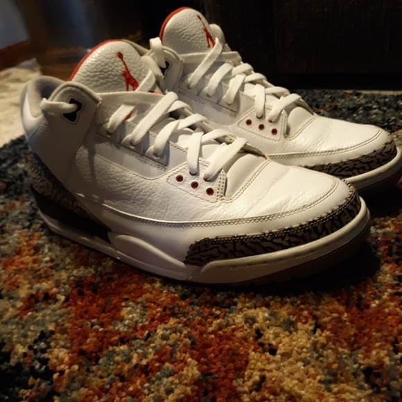 size 40 e29c1 2d11b Jordan 3 white/black cement 2011